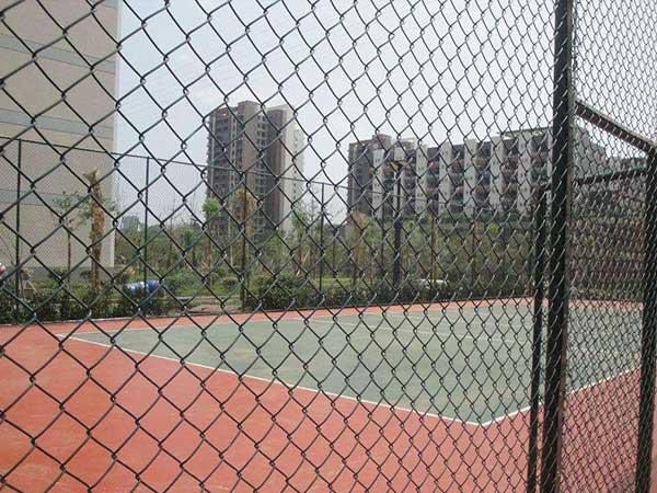 排球场围网施工案例